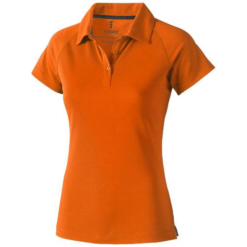 Ottawa short sleeve women's cool fit polo in orange