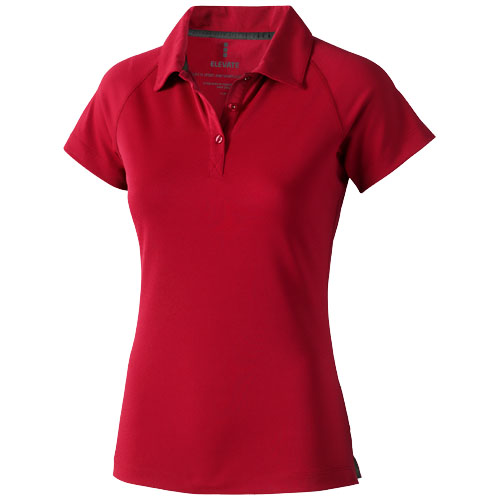 Ottawa short sleeve women's cool fit polo in red