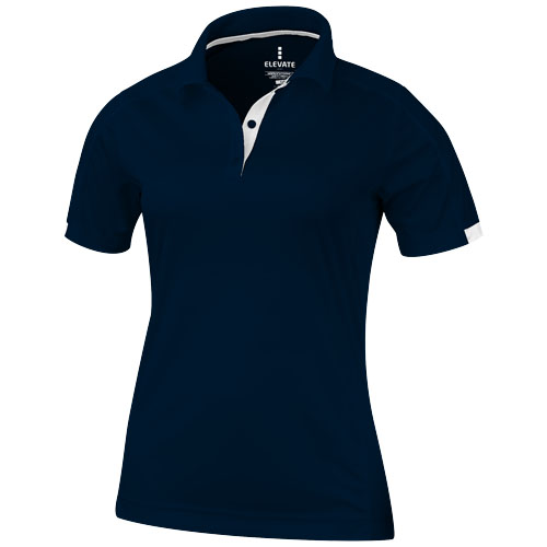 Kiso short sleeve women's cool fit polo in navy