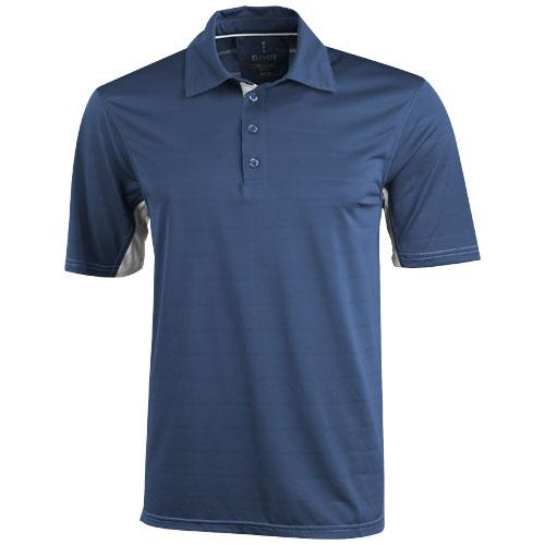 Prescott short sleeve Polo in denim