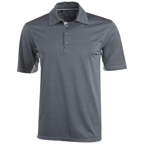 Prescott short sleeve Polo in steel-grey