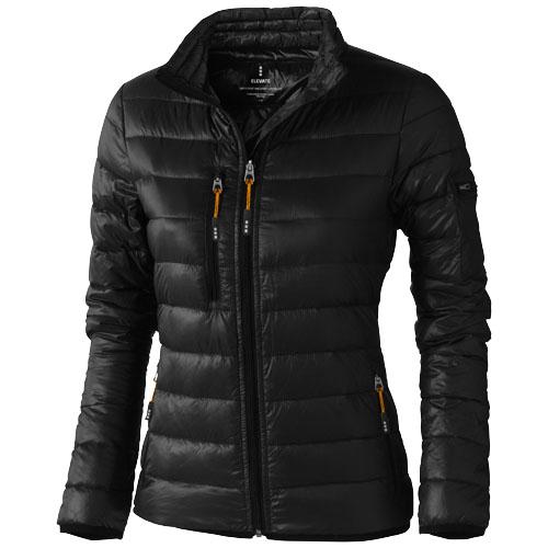 Scotia light down ladies jacket in black-solid