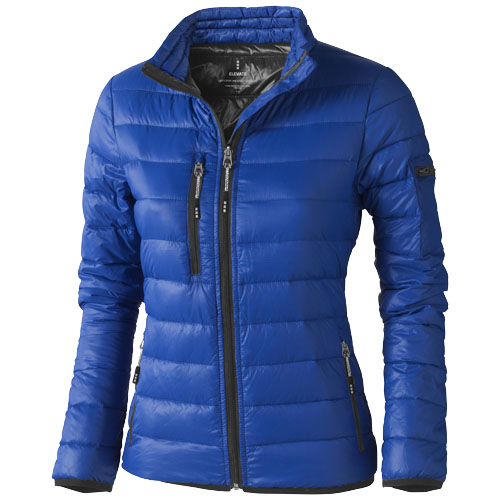 Scotia light down ladies jacket in blue