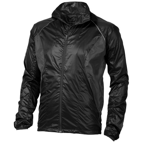 Tincup lightweight Jacket in black-solid