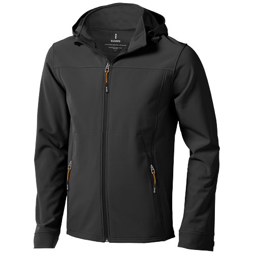 Langley softshell jacket in anthracite