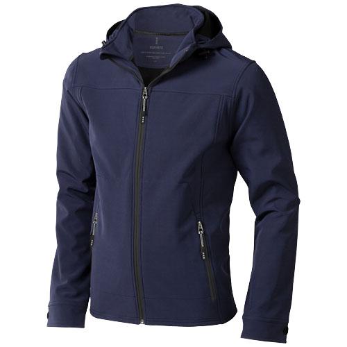 Langley softshell jacket in navy