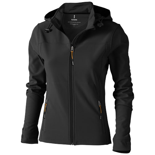 Langley softshell ladies Jacket in anthracite