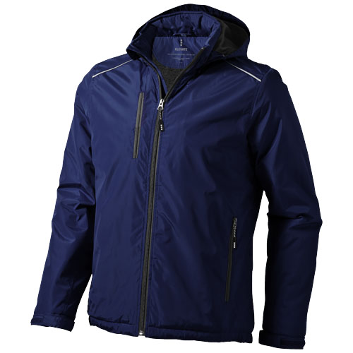 Smithers fleece lined Jacket in navy