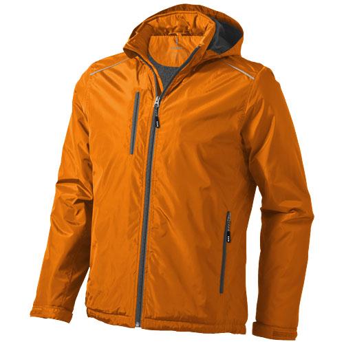 Smithers fleece lined Jacket in orange