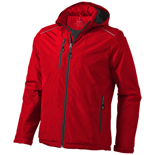 Smithers fleece lined Jacket in red