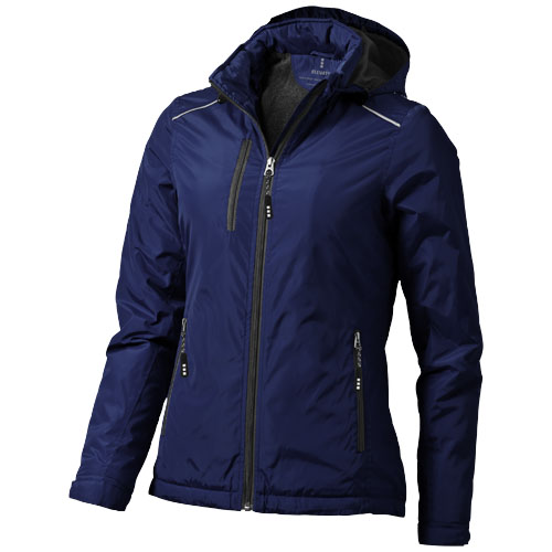 Smithers fleece lined ladies Jacket in navy