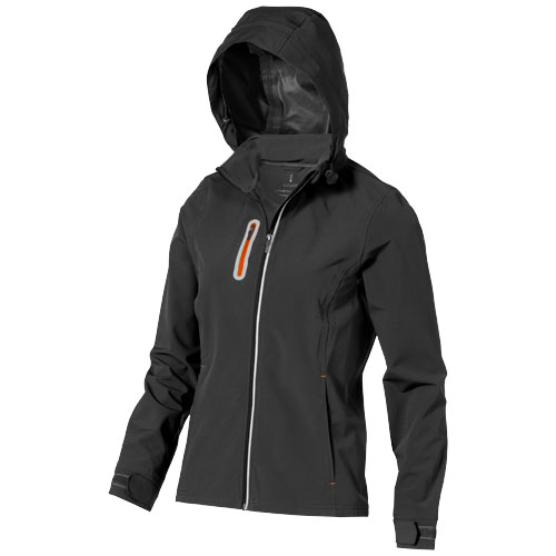 Howson softshell ladies Jacket in anthracite