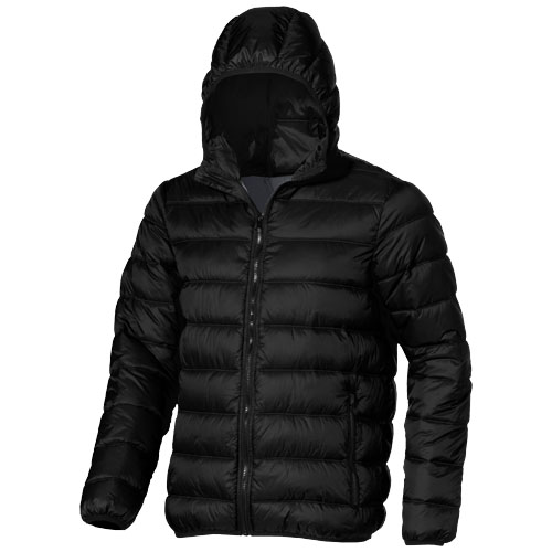 Norquay insulated jacket in black-solid