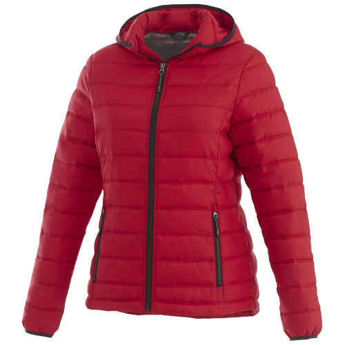 Norquay insulated ladies jacket in steel-grey