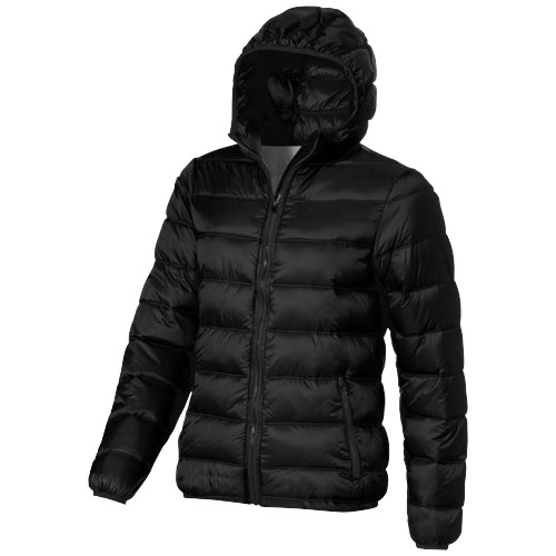 Norquay insulated ladies jacket in black-solid