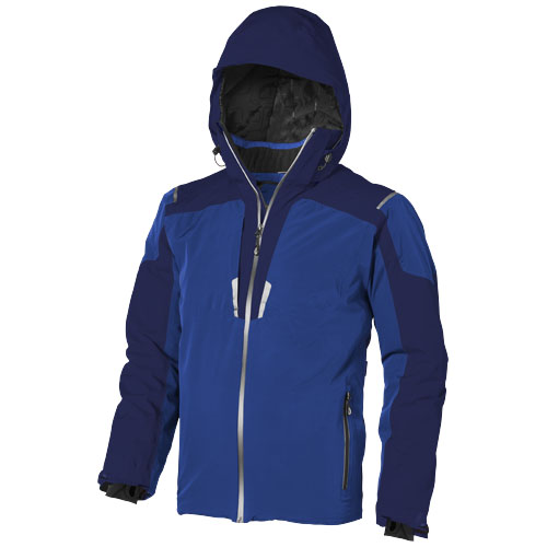 Ozark insulated jacket in blue-and-navy