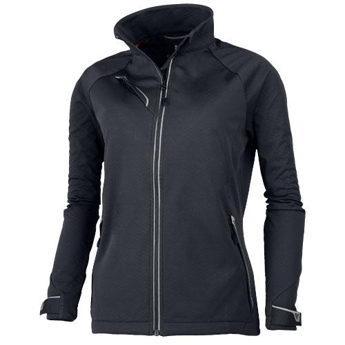 Kaputar ladies softshell jacket in storm-grey