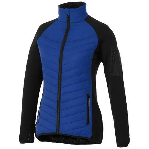 Banff hybrid insulated ladies jacket in blue