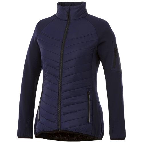 Banff hybrid insulated ladies jacket in navy