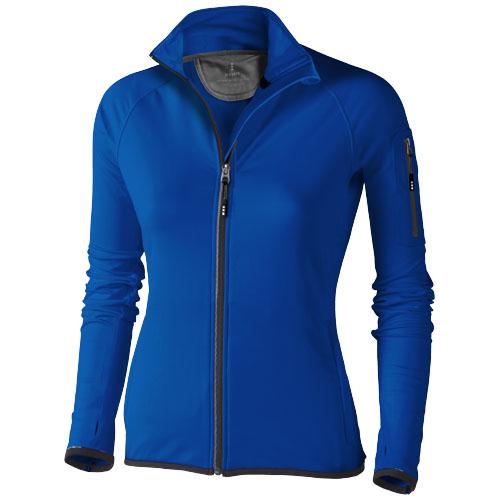 Mani power fleece full zip ladies Jacket in blue
