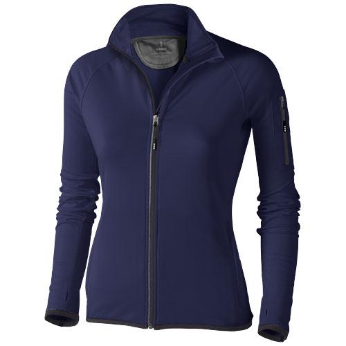 Mani power fleece full zip ladies Jacket in navy