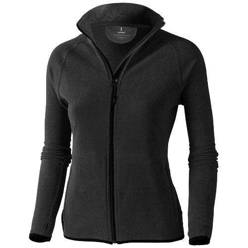 Brossard micro fleece full zip ladies Jacket in anthracite