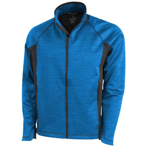 Richmond knit Jacket in heather-blue