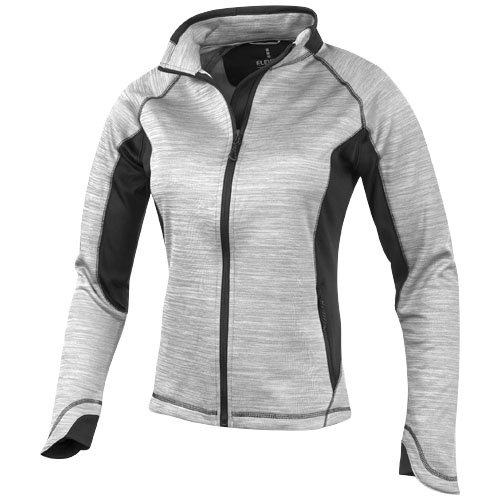 Richmond ladies knit jacket in grey-melange