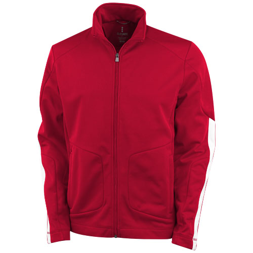 Maple knit Jacket in red