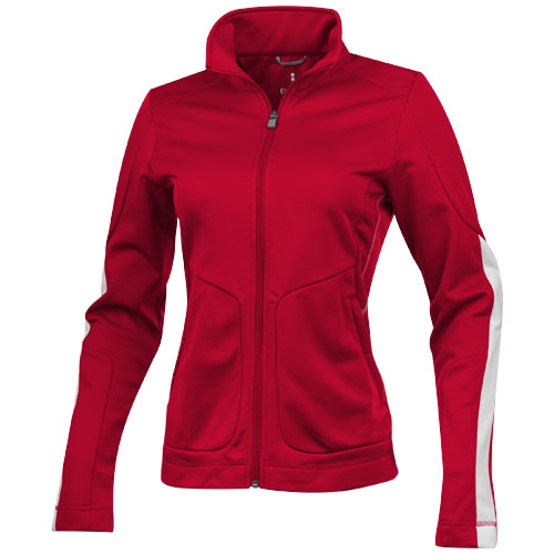 Maple knit ladies Jacket in red