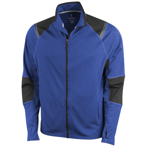 Jaya knit Jacket in heather-blue