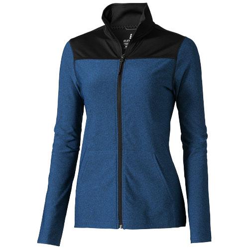 Perren ladies knit jacket in heather-blue