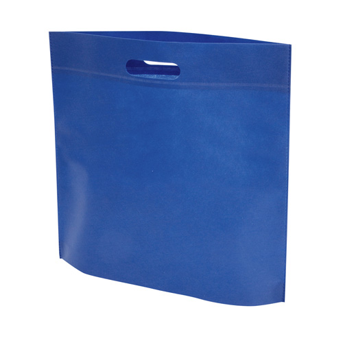 Budget Exhibition Tote Bag in blue