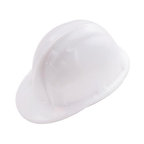 Hard Hat Pencil Sharpener in white