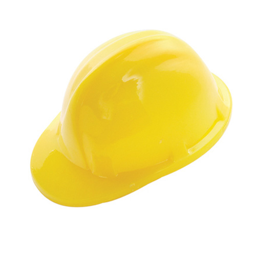 Hard Hat Pencil Sharpener in yellow