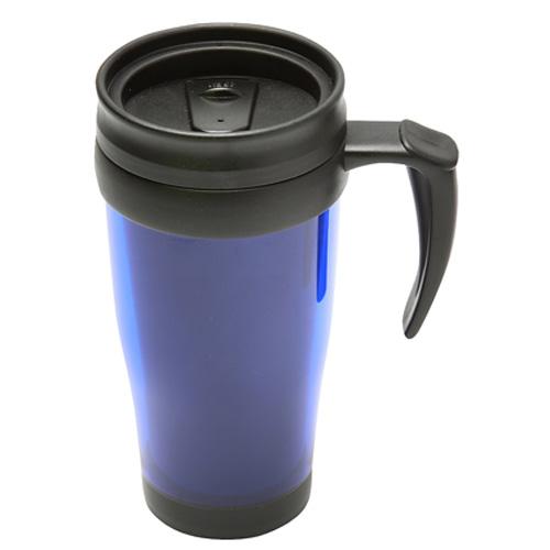 Travel Mug in blue-blacktrans