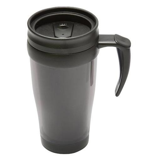 Travel Mug in grey-black