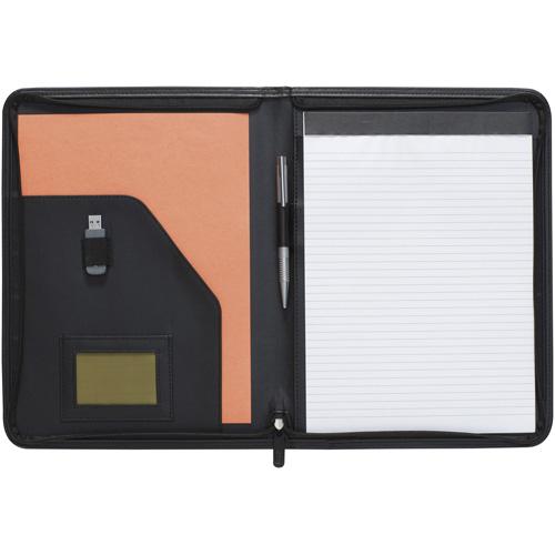 Printed Promotional New Dartford A4 Zipped Folder