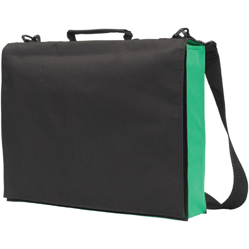 Knowlton Delegate Bag in black-and-green