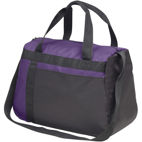 Westwell Kitbag in purple-and-black