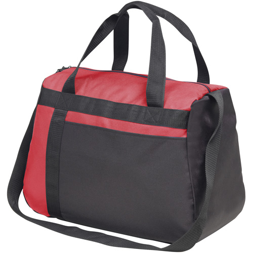 Westwell Kitbag in red-and-black
