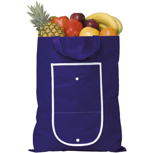 Rainham Fold Up Bag in royal
