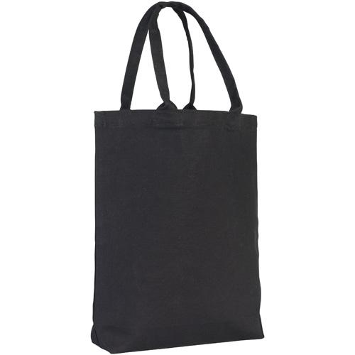 Buckland 10oz Midi Tote Bag in black