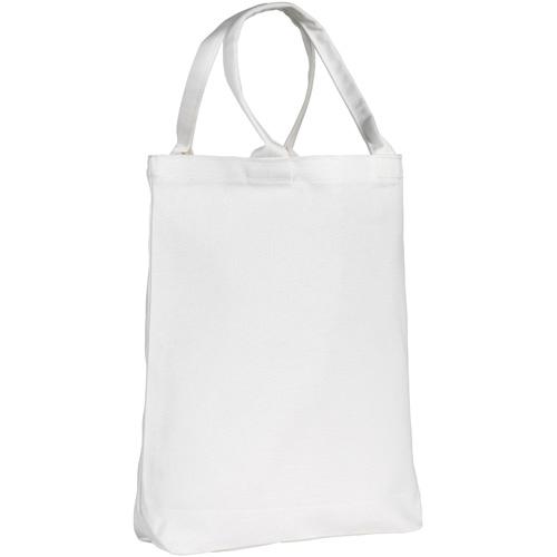 Buckland 10oz Midi Tote Bag in white