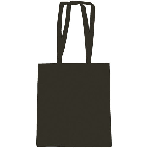 Snowdown Premium Cotton Tote Bag in black