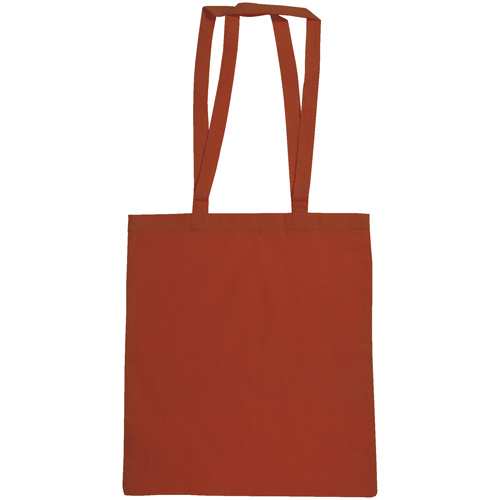 Snowdown Premium Cotton Tote Bag in red