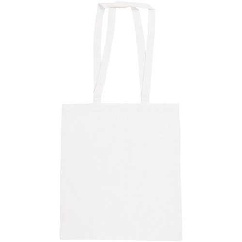 Snowdown Premium Cotton Tote Bag in white