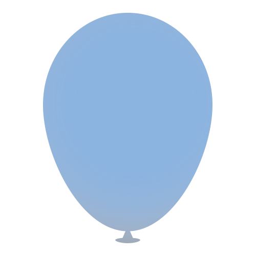 12 Inch Latex Balloons in light-blue