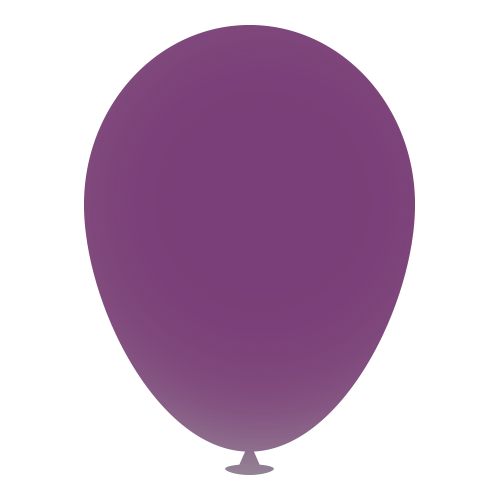 12 Inch Latex Balloons in purple