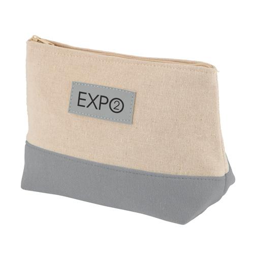 Amenity Bag in grey